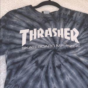 Thrasher spider dye T-shirt